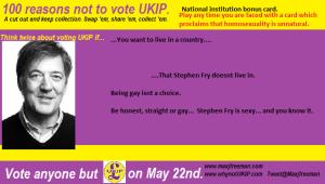 Stephen Fry bonus